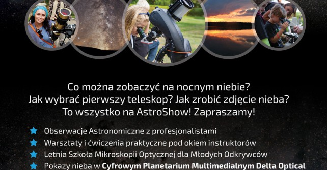 Zlot Miłośników Astronomii – AstroShow.